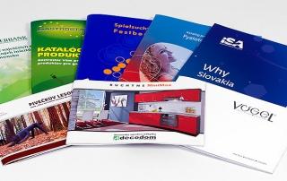 Tlač a výroba brožúr