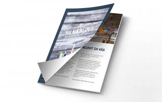Tlač lepných brožúr