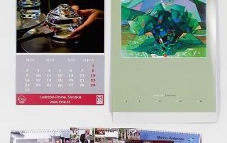 Tlač a výroba kalendárov
